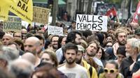 Des manifestants défilent contre la loi travail le 26 mai 2016 à Toulouse [PASCAL PAVANI / AFP]