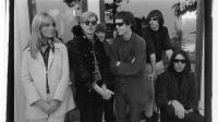 Le velvet underground et Nico avec Andy Warhol Hollywood Hills en 1966