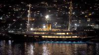 """Photo d'un yacht amarré dans le port de Nice ayant servi pour tourner une scène du film """"Grace de Monaco"""" d'Olivier Dahan, le 22 octobre 2012  [Valery Hache / AFP/Archives]"""