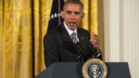 Le président américain Barack Obama, le 7 octobre 2015 à la Maison Blanche, à Washington [NICHOLAS KAMM / AFP]