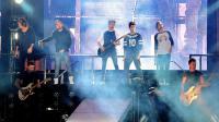 """Le boys band britannique """"One Direction"""" en concert ç Santiago, au Chili, le 30 avril 2014 [Francesco Degasperi / AFP/Archives]"""