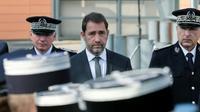 Le ministre de l'intérieur Christophe Castaner à Albi, le 19 octobre 2018 [ERIC CABANIS / AFP]