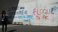 L'université Paris 8 Saint-Denis toujours bloquée le 6 avril 2018 [Ludovic MARIN / AFP]