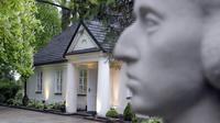 La maison natale du compositeur polonais Frédéric Chopin, le 7 mai 2010 à Zelazowa Wola, près de Varsovie [JANEK SKARZYNSKI / AFP/Archives]