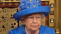 La reine Elizabeth II, le 21 juin 2017 au parlement britannique à Londres [Stefan Rousseau / POOL/AFP]