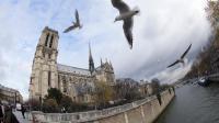 Vue prise devant la cathédrale Notre-Dame de Paris [Patrick Kovarik / AFP/Archives]