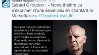La Comédie française se mobilise pour défendre le théâtre et la vie