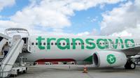 Le mouvement de grève des hôtesses et stewards de Transavia France à l'appel de la CGT n'a qu'un impact limité sur le trafic vendredi, avec 95% des vols maintenus  [Gabriel BOUYS / AFP/Archives]