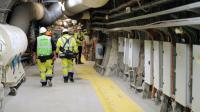 Le laboratoire souterrain de l'Agence nationale pour la gestion des déchets nucléaires (Andra) à Bure (Meuse), le 4 février 2013 [JEAN-CHRISTOPHE VERHAEGEN / AFP/Archives]