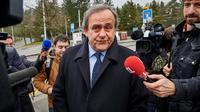 Michel Platini, le 15 février 2016 à Zurich  [MICHAEL BUHOLZER / AFP/Archives]