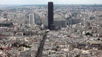 Vue de la Tour Montparnasse à Paris, le 14 juillet 2012 [Loic Venance / AFP/Archives]