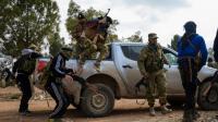 Des combattants de l'Armée syrienne libre près de la ville d'Al-Bab, le 4 février 2017 [Nazeer al-Khatib / AFP]