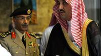 Le porte-parole du ministère de l'Intérieur, le général Mansour Al-Turki, à Riyadh le 8 février 2005 [Rabih Moghrabi / AFP/Archives]