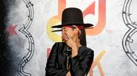 La chanteuse Erykah Badu à Austin au Texas le 14 mars 2014 [Rick Kern / Getty/AFP/Archives]