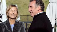 Marielle de Sarnez et François Bayrou, le 29 septembre 2012 à Guidel en Bretagne [Fred Tanneau / AFP/Archives]