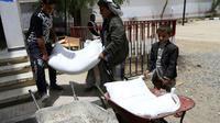 La guerre au Yémen a fait près de 10.000 morts, en majorité des civils, et plus de 56.000 blessés [Mohammed HUWAIS / AFP/Archives]