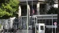 L'ambassade américaine à Berlin, le 13 septembre 2012 [John Macdougall / AFP/Archives]