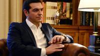 Le Premier ministre grec Alexis Tsipras, le 21 septembre 2015 à Athènes [LOUISA GOULIAMAKI / AFP]
