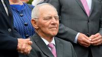 Le ministre allemand des Finances Wolfgang Schäuble à Offenburg en Allemagne, le 18 septembre 2017 [THOMAS KIENZLE / AFP/Archives]