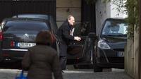 L'ancien directeur général de la police nationale, Michel Gaudin, arrive au domicile de Nicolas Sarkozy, le 22 mars 2013 à Paris  [Fred Dufour / AFP/Archives]