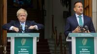 Les Premiers ministres irlandais Leo Varadkar et britannique Boris Johnson se rencontrent à Dublin le 9 septembre 2019 [Lorraine O'SULLIVAN / AFP]