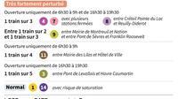 Paris : prévisions du trafic RATP [ / AFP]