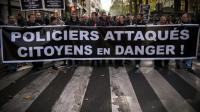 Manifestation de policiers, le 26 octobre 2016 à Paris [LIONEL BONAVENTURE / AFP]