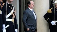 Le président François Hollande le 28 janvier 2016 à l'Elysée à Paris [STEPHANE DE SAKUTIN / AFP]