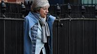 Theresa May, le 18 janvier 2019 à Londres [Ben STANSALL / AFP]
