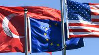 La Turquie répliquera si les Etats-Unis décident d'imposer de nouvelles sanctions [OZAN KOSE / AFP/Archives]