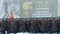 Commemoration ceremonies to mark the 75th anniversary of the lifting of the Nazi siege of Leningrad will include 2,500 servicemen in modern and period uniforms [OLGA MALTSEVA / AFP]