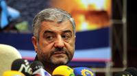 Le chef des Gardiens de la révolution, le général Mohammad Ali Jafari, le 16 septembre 2012 lors d'une conférence de presse à Téhéran [ATTA KENARE / AFP/Archives]