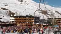 Une station de ski dans les Alpes [Jean-Pierre Clatot / AFP]