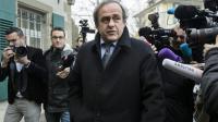 Michel Platini à son arrivée au Tribunal du Sport à Lausanne, le 8 décembre 2015 [FABRICE COFFRINI / AFP/Archives]