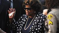 Katherine Jackson, mère de Michael, à Los Angeles, le 27 septembre 2011 [Robyn Beck / AFP]