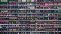 Un immeuble d'habitation dans la région parisienne [Thomas Samson / AFP/Archives]