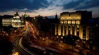 La conférence internationale sur le climat, COP25, se tiendra à Madrid début décembre, en lieu et place du Chili, qui y a renoncé en raison de la crise sociale qui secoue le pays [DANI POZO / AFP/Archives]