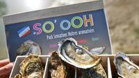 Les huîtres aromatisées de la société So'ooh, à Marennes, le 30 octobre 2017 [XAVIER LEOTY / AFP/Archives]