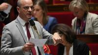 Le ministre de l'Education Jean-Michel Blanquer le 6 février 2019 à l'Assemblée nationale à Paris [Christophe ARCHAMBAULT / AFP/Archives]