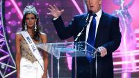 Donald Trump le 16 juin 2013 à Las Vegas au côté de Miss USA [Ethan Miller / Getty Images/AFP/Archives]