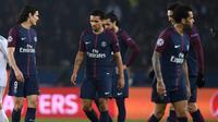 Les Parisiens restent sur une défaite amère devant le Real Madrid en Ligue des champions, au Parc des Princes le 6 mars 2018  [FRANCK FIFE / AFP/Archives]
