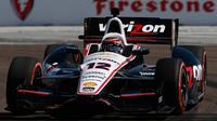 Le pilote australien Will Power au Grand Prix IndyCar de St.Petersburg le 30 mars 2014 à St.Petersburg en Floride [Chris Trotman / AFP]