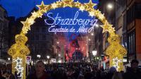 Le marché de Noël le 24 novembre 2012 à Strasbourg [Patrick Hertzog / AFP/Archives]