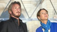 Sean Penn et Ségolène Royal le 1er novembre 2015 à Paris [LIONEL BONAVENTURE / AFP]