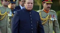 Le Premier ministre pakistanais Nawaz Sharif à Islamabad le 5 juin 2013 [Aamir Qureshi / AFP/Archives]