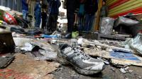 Attentat sur le marché le 31 décembre 2016 à Bagdad [SABAH ARAR / AFP]