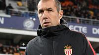 L'entraîneur portugais de Monaco, Leonardo Jardim, lors du match de L1 face à Montpellier, à la Mosson, le 13 janvier 2018 [PASCAL GUYOT / AFP/Archives]