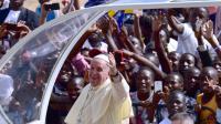 Le pape François, le 28 novembre 2015 à Kampala [GIUSEPPE CACACE / POOL/AFP]