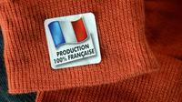 Une paire de chaussettes 100% made in France, le 30 janvier 2013 à Rennes [Damien Meyer / AFP/Archives]
