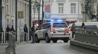 Intervention de la police belge à Bruxelles, le 31 mars 2016 [STR / BELGA/AFP/Archives]